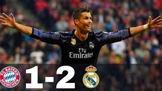 Real Madrid vs Bayern Munich 1-2 - All Goals & Highlights - UCL 2016/17 (1st leg)
