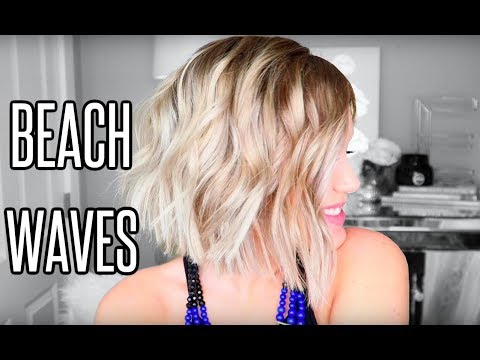 Beach Waves for Short Hair | L'ange Hair Wand