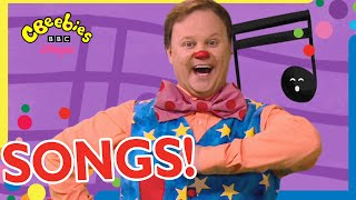 Mr Tumble's Super Songs and Nursery Rhymes Compilation! 🎶   With Makaton   CBeebies