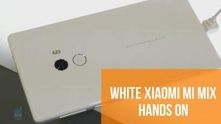 White Xiaomi Mi Mix Hands On