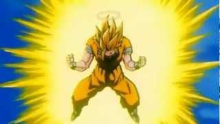 Goku goes Super Saiyan 3 For The First Time [HD 1080p]