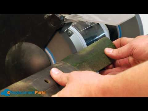 How to Sharpen the Blade on your Lawn Mower--A Quick Fix