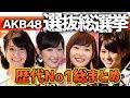 【AKB総選挙】これで丸わかり!歴代チャンピオン総まとめ!!!