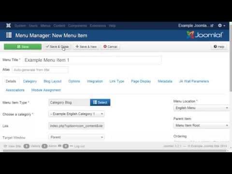 How to create multilanguage joomla 3.2.3.- multilingual joomla 3.2.3