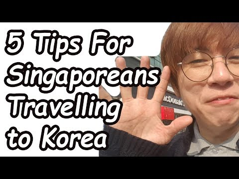 5 Tips For Singaporeans Travelling To Korea