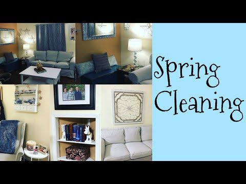 Spring Cleaning My Living Room Cleaning Motivation