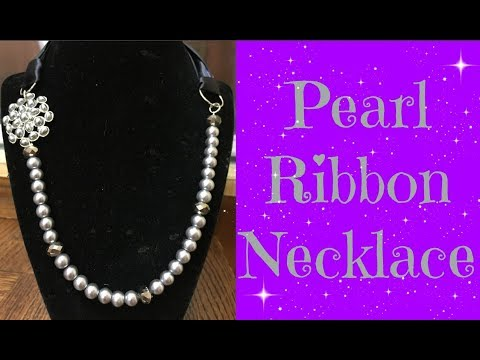 How to Make Ribbon Necklace