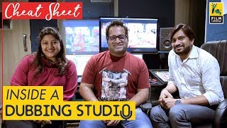 Inside A Dubbing Studio | Mona Shetty | Cheat Sheet