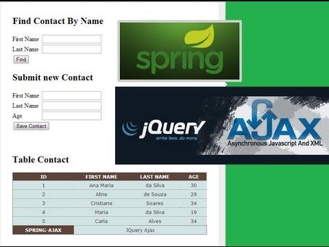 Spring MVC & Ajax JQuery - Parte 0