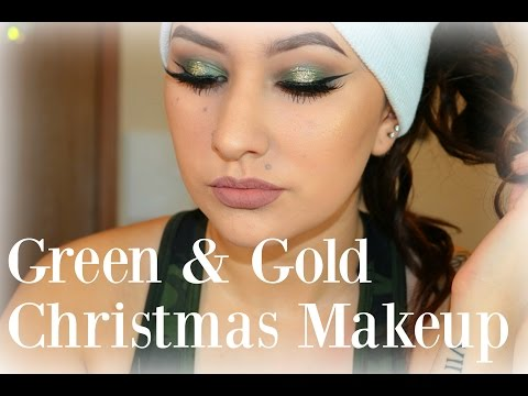 Green & Gold Christmas Tutorial