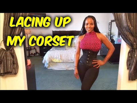 Corset Training: Lace Up ( My Corset Collection )
