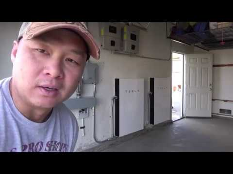 The final day of Tesla Solar and Powerwall 2 installation