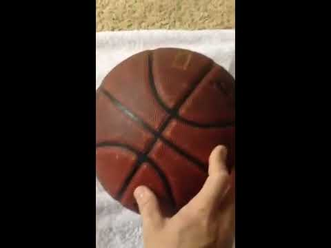 Clean your basketball