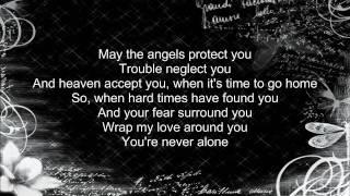 lady antebellum  never alone  lyrics