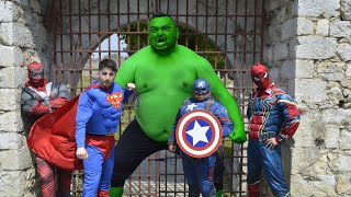 Hulk VS Superheroes