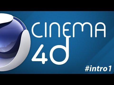COMO CRIAR UM INTRO NO CINEMA 4D PRIMEROS PASSOS  angovideo.blogspot.com