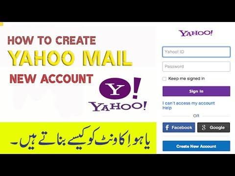 How to Create Yahoo Mail New Account