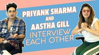 Priyank Sharma And Aastha Gill Interview Each Other | Buzz | Saara India | MissMalini