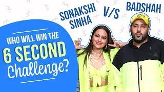 Sonakshi Sinha, Badshah & Varun Sharma take the 6 seconds Challenge | Dil Jaaniye
