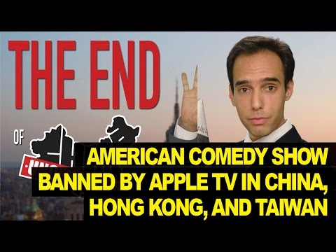Youtube Comedy Show BANNED By Apple TV In China, HK, Taiwan