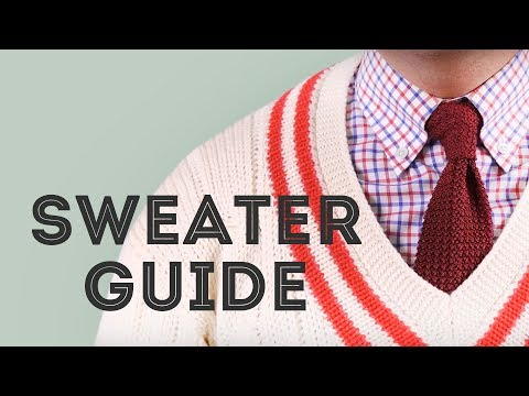 Sweater Guide: What to look for when you buy a Jumper, how to wear it + Pullover Do's & Don'ts