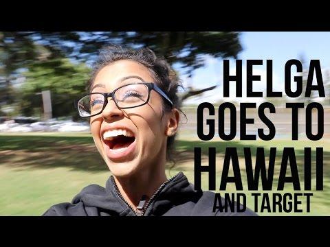 HELGA GOES TO HAWAII!!