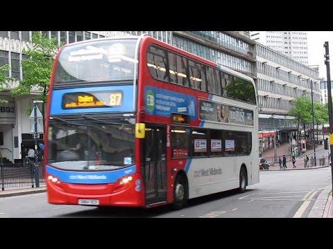 Trains & Buses at Birmingham New Street - April 2017