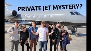 MYSTERY ABOARD A PRIVATE JET!!