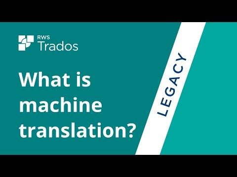 What is machine translation?