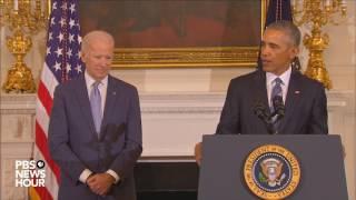 Watch full Medal of Freedom ceremony for Vice President Joe Biden