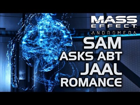 Mass Effect Andromeda - SAM Asks About Jaal Romance