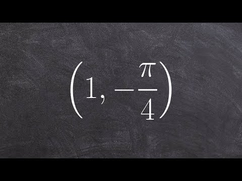 Find 2 different representations of a point in polar form