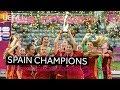 WU19 EURO Final Highlights Germany 0 1 Spain