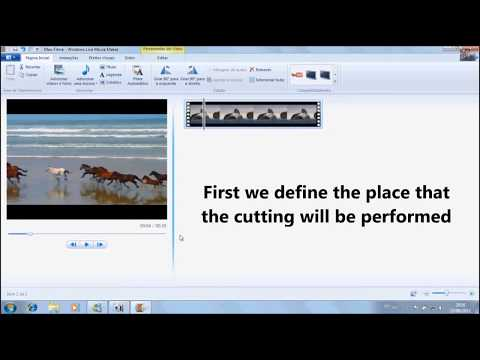 How to cut a video in Windows Movie Maker