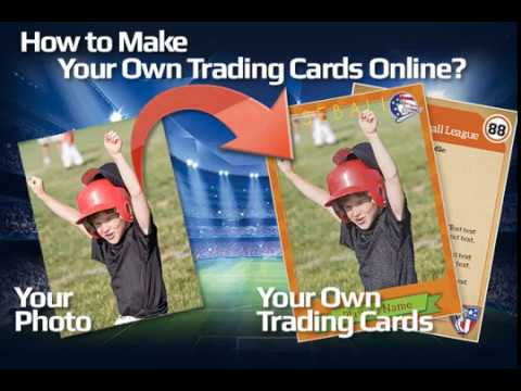 How to Create Your Own Trading Cards Online: Baseball, Hockey, Sports...