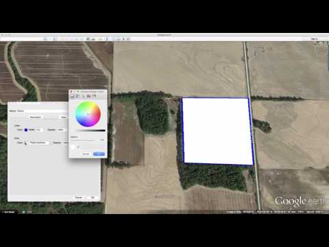 Using Google Earth For Deer Hunting To Outline Hunting Areas