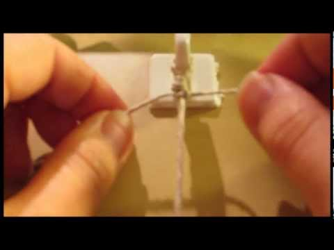 How to Make a Hemp Bracelet - The Square Knot [Part 1 of 2]