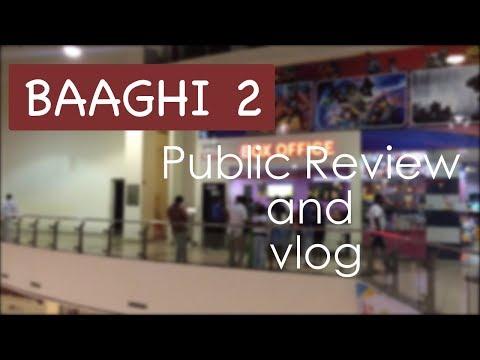 BAAGHI 2 Public Review vlog | Disha Patani | Tiger Shroff