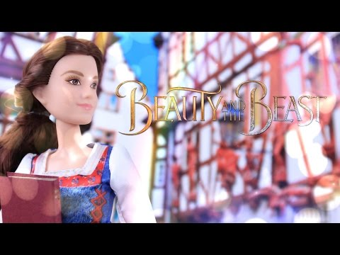 Unbox Daily: Beauty and the Beast Village Dress Belle & Enchanted Rose Scene - Doll Review - 4K