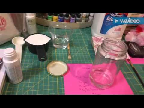 DIY CLEAR GESSO! Homemade clear gesso!! Part 1