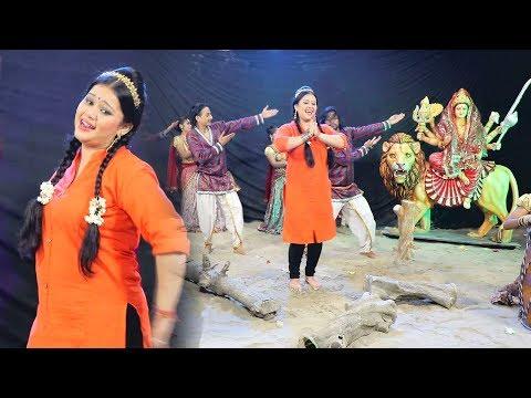 Xxx Mp4 अनु दुबे का सबसे हिट देवी गीत 2017 Leke Baghawa Aail Baduwe Jai Maa Bhawani Anu Dubey 3gp Sex