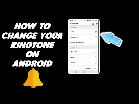 how to change your ringtone on android