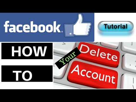 How To Delete Your Facebook Account Permanently 2017
