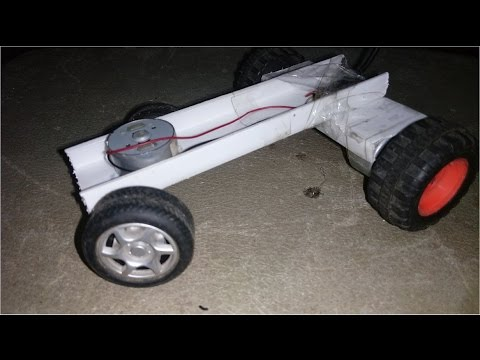 How To Make Electric Remote Control Car At Home