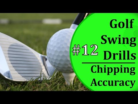 Basic Golf Swing Drills - #12 Chipping Accuracy | Learn-To-Golf.com