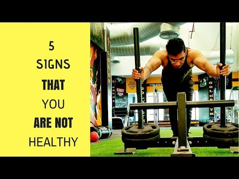5 Signs You're Bad At Being Healthy | Poor Health | Being Healthy | Signs Of Bad Health