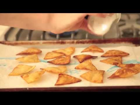 MAKE: Homemade tortilla chips