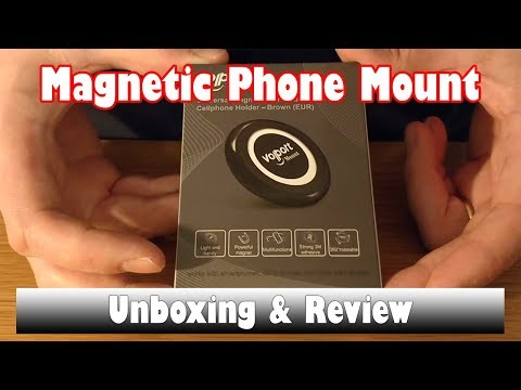 Volport Universal Magnetic Car Mount - Unboxing & Review