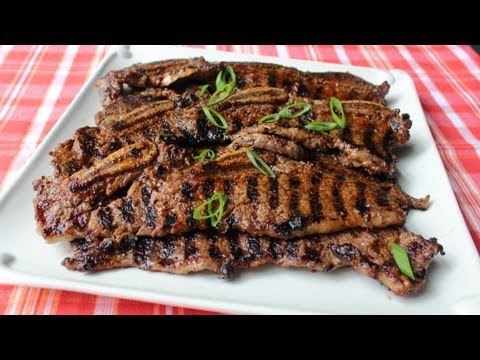 Kiwi & Chili-Rubbed Beef Short Ribs - Grilled Beef Short Ribs with Kiwi & Chili Spice Rub