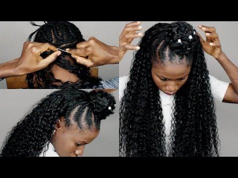 HOW TO DO- EASY UPTO Bun Hairstyle Ft Lamoda